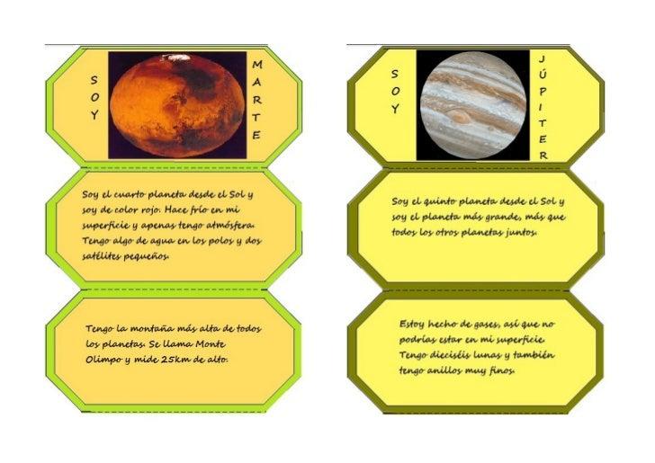 Lapbook del sistema solar en castellano