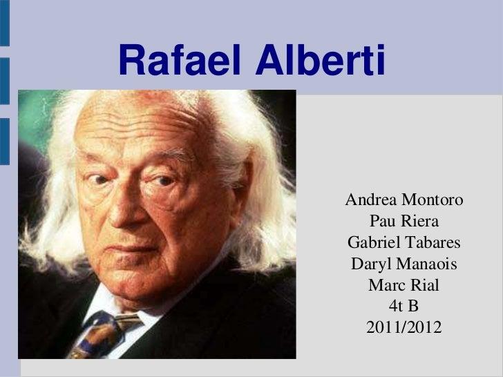 Rafael Alberti           Andrea Montoro              Pau Riera           Gabriel Tabares            Daryl Manaois         ...
