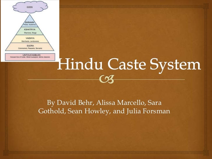 caste system essay India and the united states: caste systems, stratification, and class home essays: while india's caste system forces people into certain occupations.
