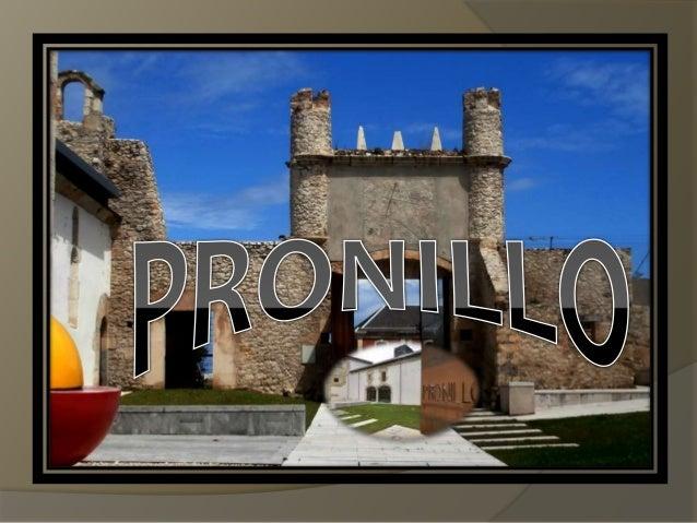 El palacio de Riva-Herrera o de Pronillo está declarado como Bien de Interés Cultural (conjunto compuesto por la torre, la...