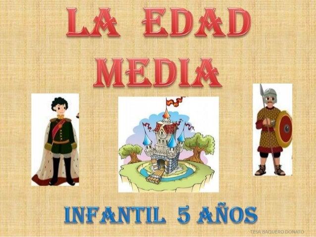 EDAD MEDIA PARA NIÑOS