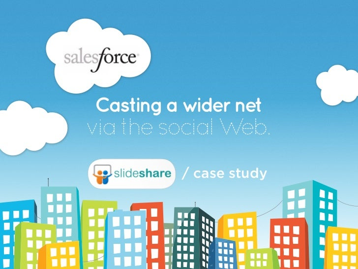 Casting a wider netvia the social Web.         / case study