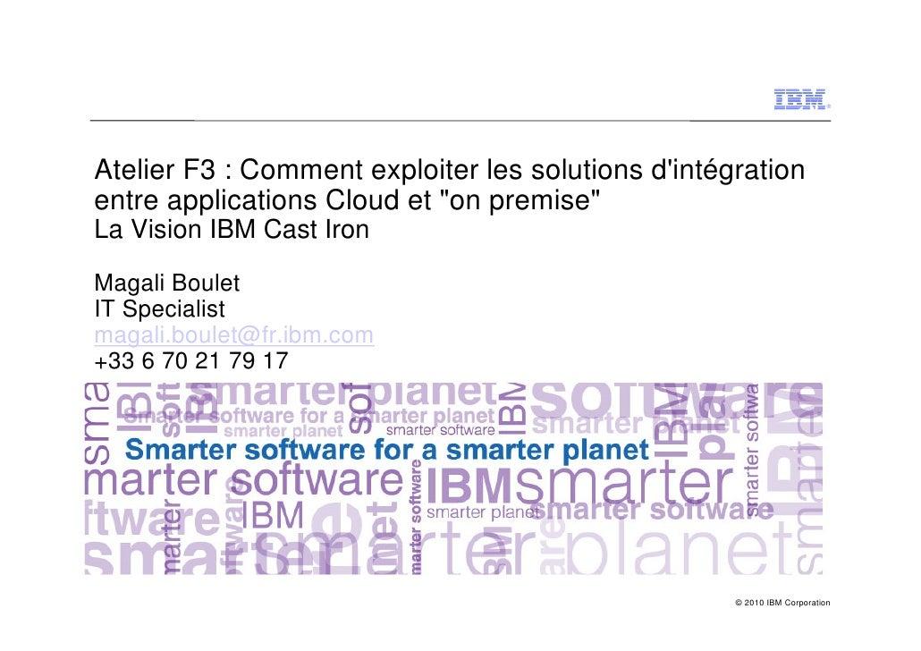 """Comment exploiter les solutions d'intégration entre applications Cloud et """"on premise"""" ?"""