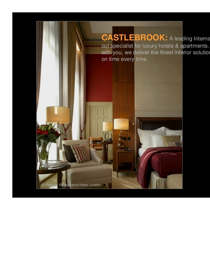 CASTLEBROOK: A leading International Interior fit                                       out specialist for luxury hotels &...
