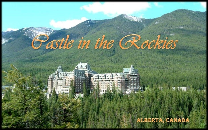 Castle in the rockies