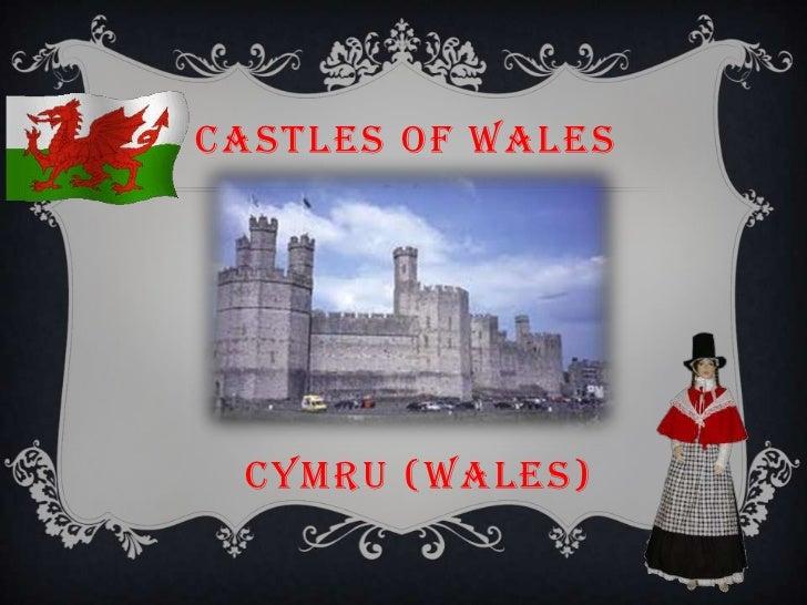 CASTLES of WALES<br />CYMRU (WALES)<br />