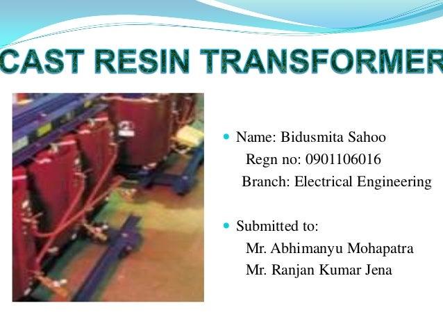 Cast resin transformer