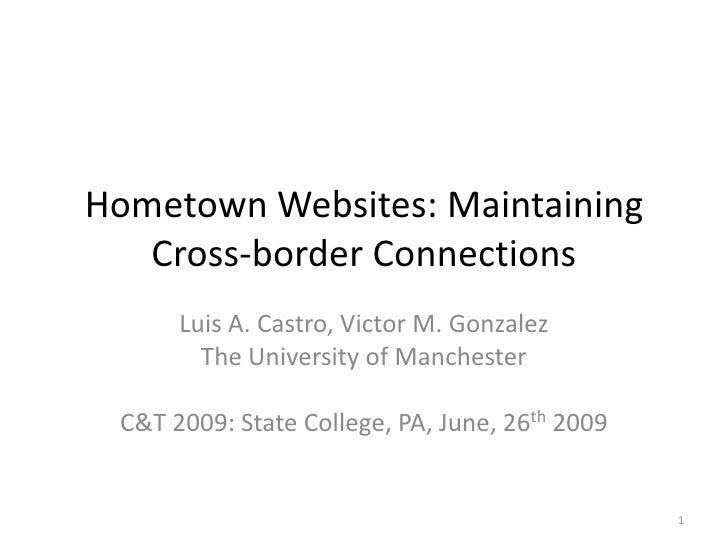 Hometown Websites