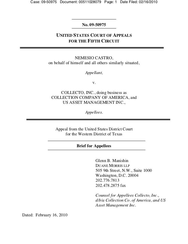 Case: 09-50975 Document: 00511028079 Page: 1 Date Filed: 02/16/2010                                  No. 09-50975         ...