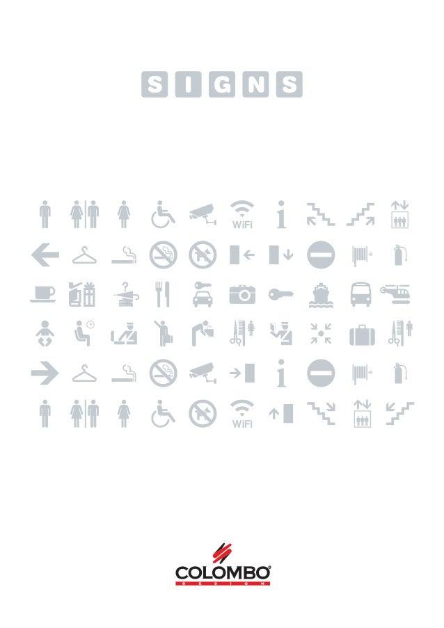 Signs Catalogue 01/2013