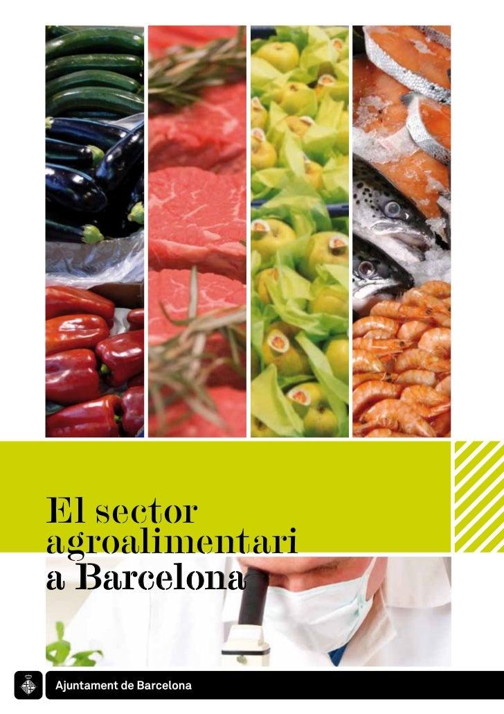 El sector agroalimentari a Barcelona