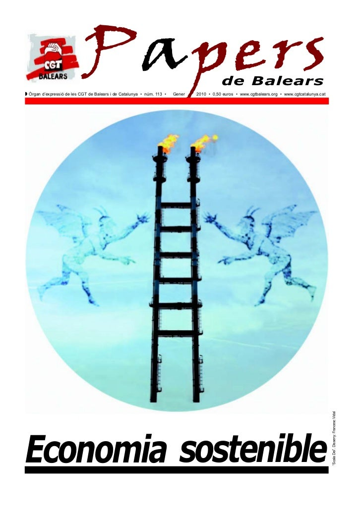 PapersQ Òrgan d'expressió de les CGT de Balears i de Catalunya • núm. 113 •   Gener                                       ...