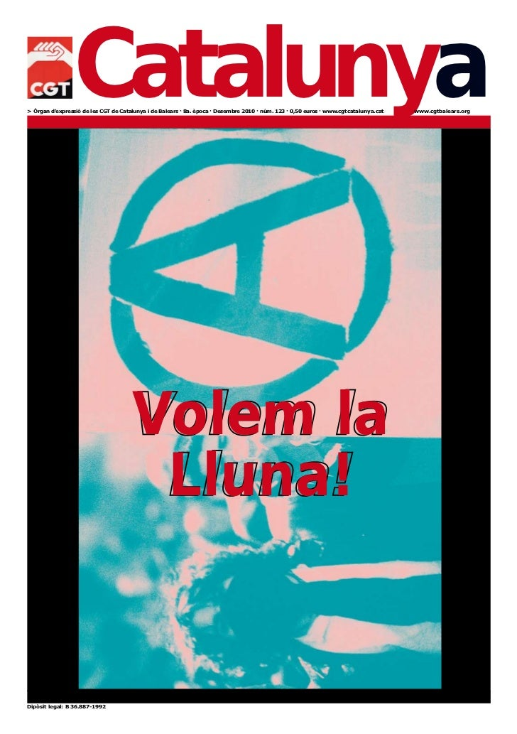 Revista Catalunya - Papers 123 Desembre 2010