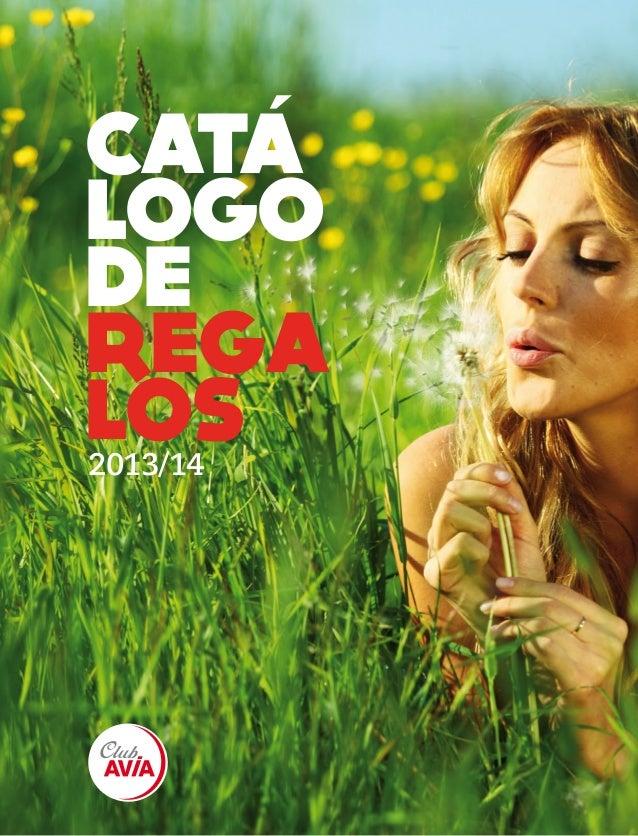 1 CATA LOGO DE REGA LOS2013/14