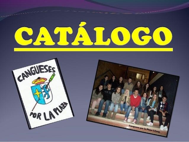 Catálago Cangueses por La Plaza
