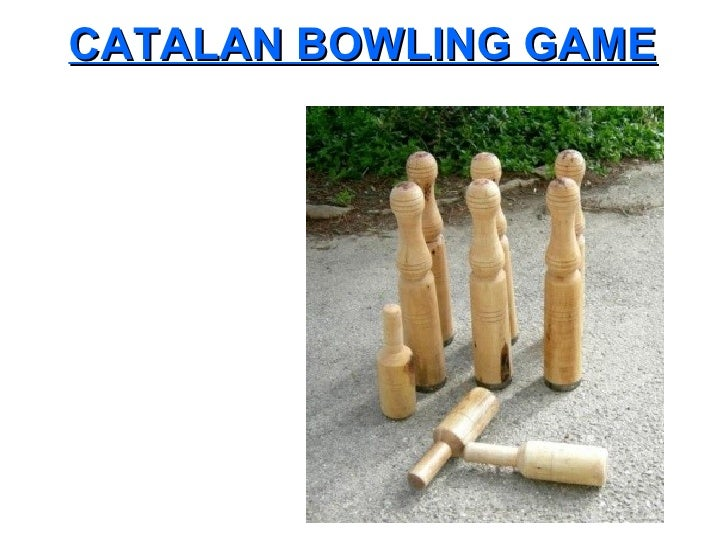 Catalan Bowling Game