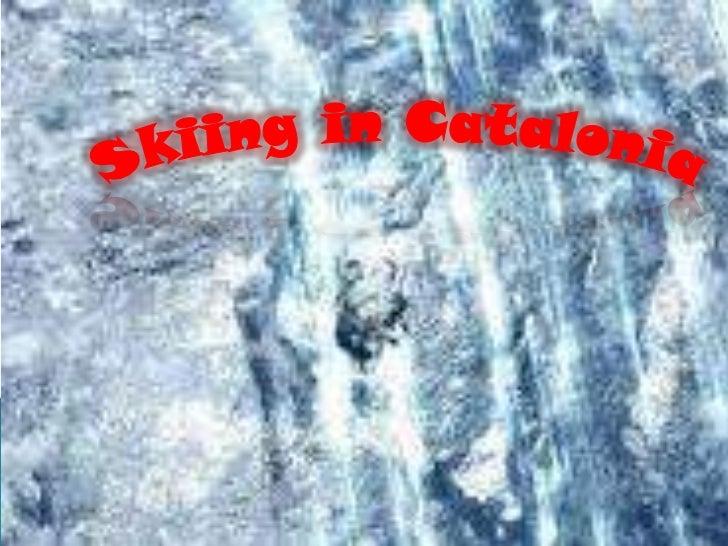 Catalan skiing