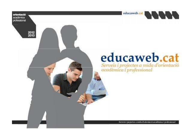 Cataleg serveis-educaweb-2012