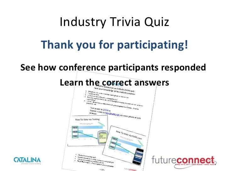 Future Connect Quiz Results