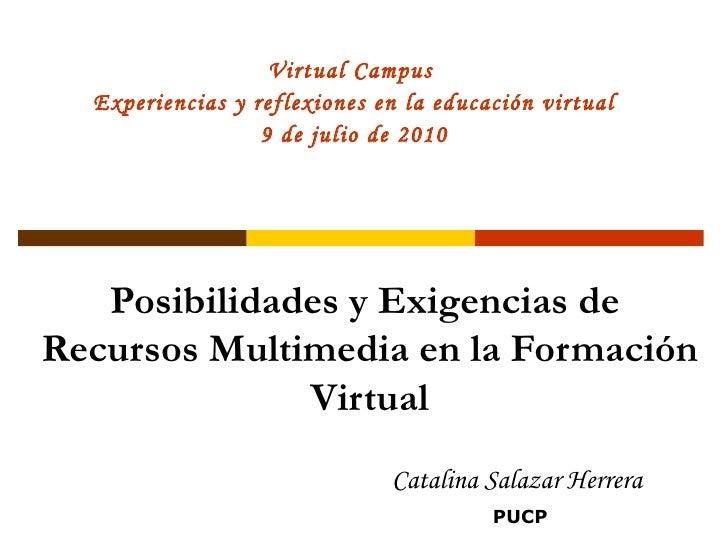 Recursos multimedia