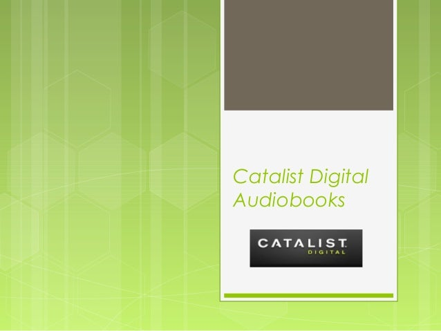 Catalist Digital Audiobooks