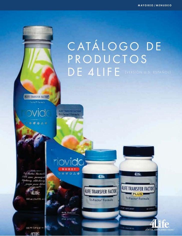 Catalog De los Productos de 4life