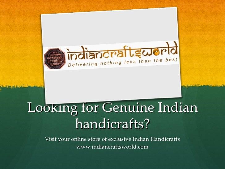 Indian Crafts -Catalog2
