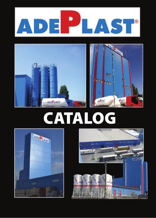 AdePlast Catalogue -English Version