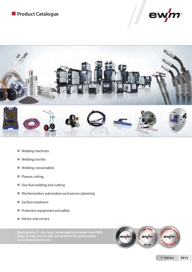 Product Catalogue EWM