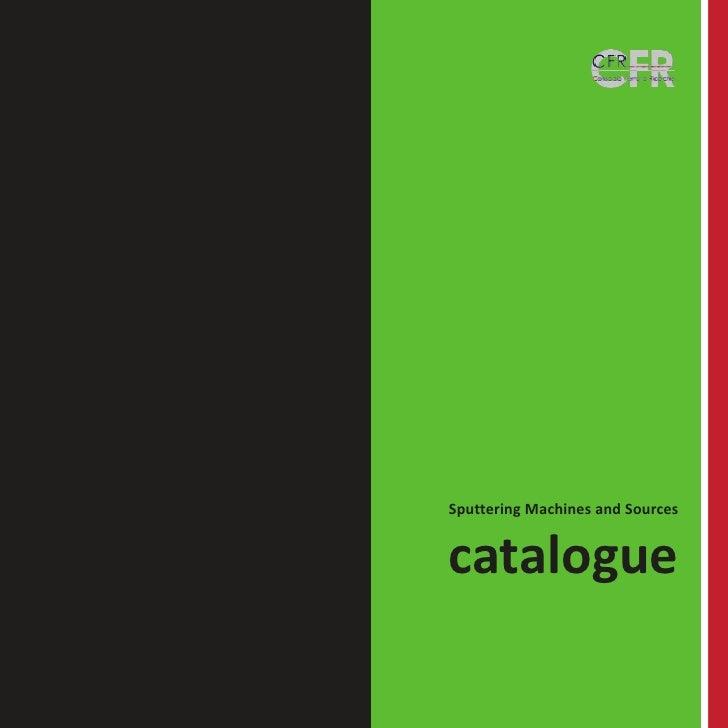 CFR Catalogue