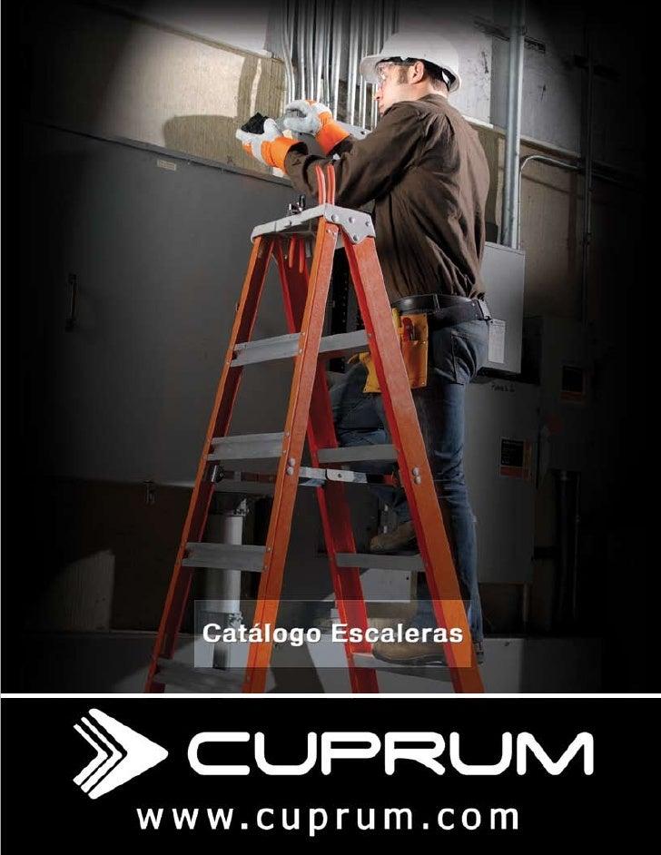 Catalogo escaleras cuprum for Escaleras cuprum