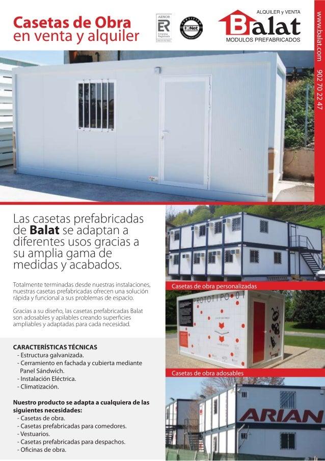 Balat modulos prefabricados y construccion modular - Balat modulos prefabricados ...
