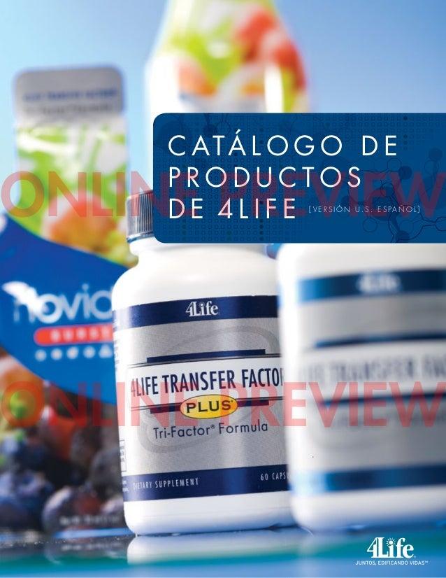 catalogo 4 life