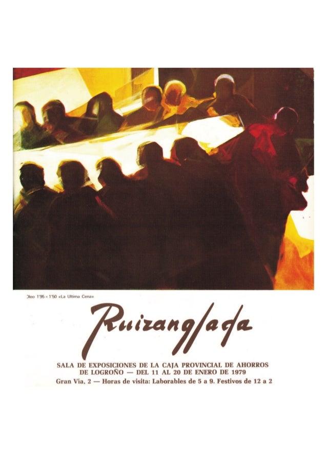Ruizanglada Catalogo - 1979 Caja de Ahorros Logroño