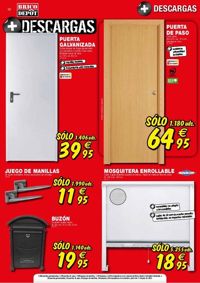 Catalogo bricodepot julio 2014 - Puertas de interior bricomart ...