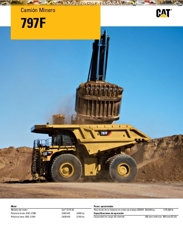 Catalogo camion-minero-797f-caterpillar