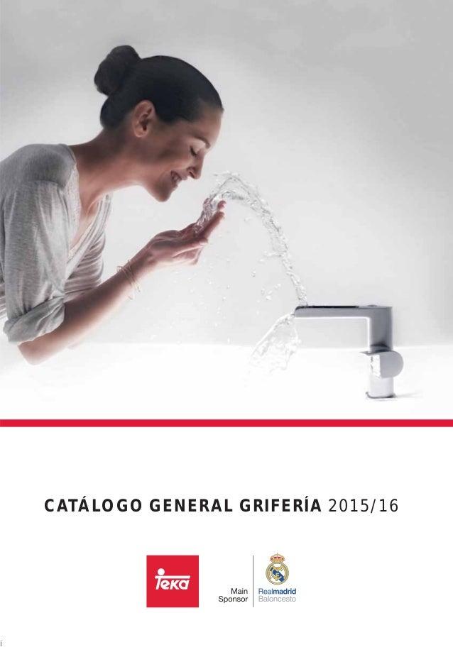 Catalogo griferia teka 2015 for Catalogo acqua e sapone 2015