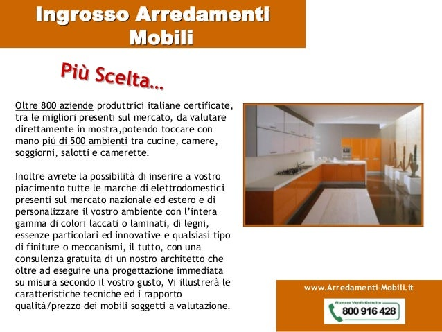 Catalogo ingrosso mobili for Aziende mobili italiane