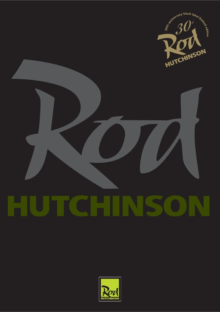 Dear Friends,  welcome to the Rod Hutchinson range of baits for Carp Fishing.  While I'm writing these lines, I still feel...