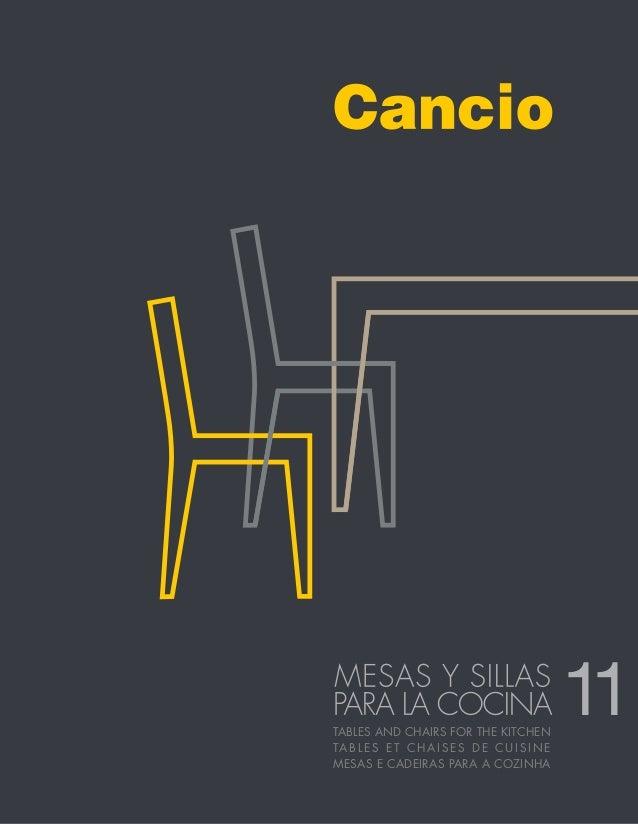 CANCIO Catalogo/Catalogue 11