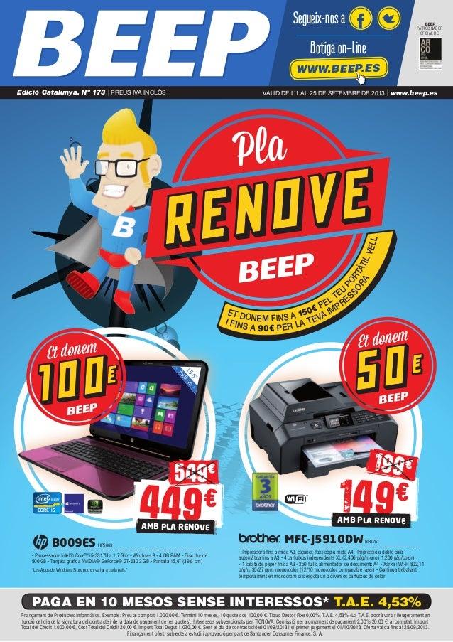 Pla ET DONEM FINS A 150€ PEL TEU PORTÀTILVELL I FINS A 90€ PER LA TEVA IMPRES SORA B009ES HP5863 - Processador Intel® Core...