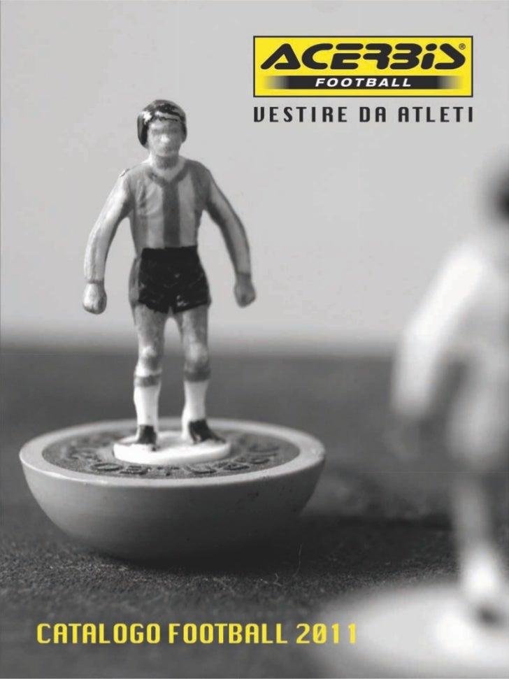 Acerbis Football catalogus 2011