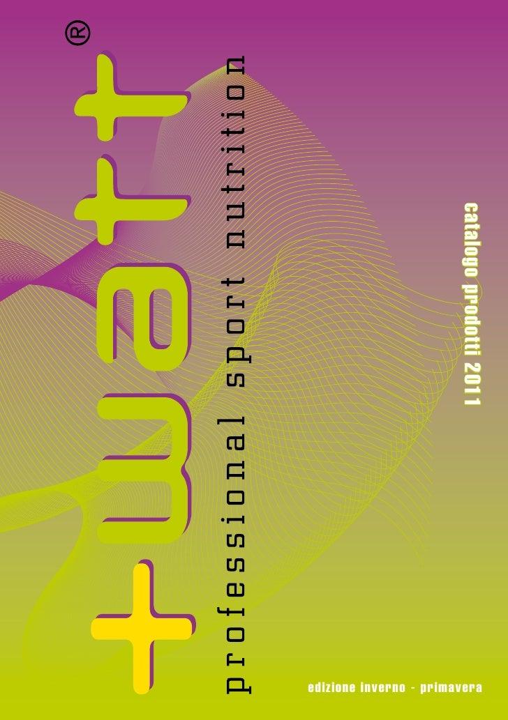 catalogo prodotti 2011edizione inverno - primavera