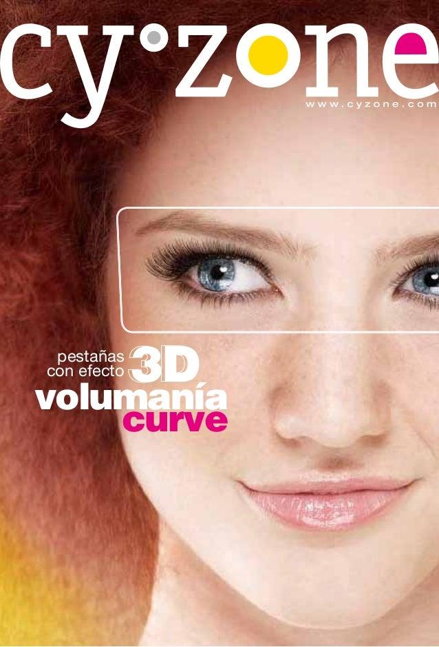 www.cyzone.com pestañascon efecto   3Dvolumanía    curve