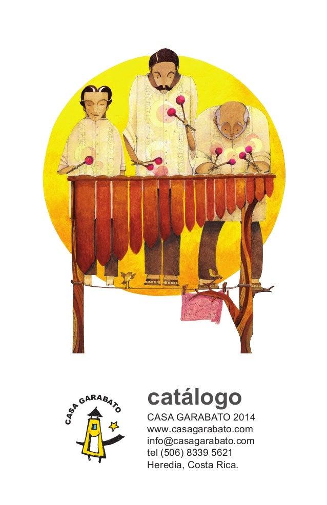 Catálogo de Libros para Niños de Casa Garabato 2014