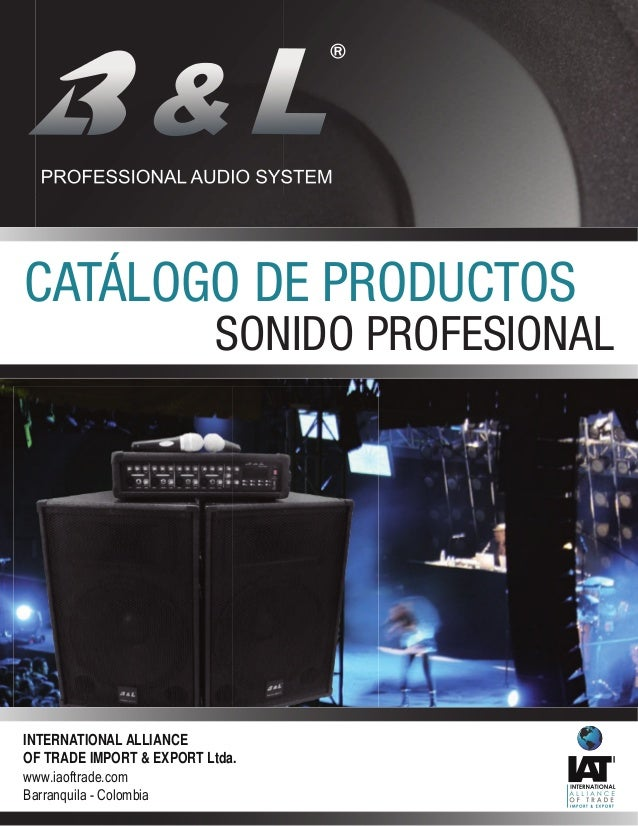 SONIDO PROFESIONAL B&L®