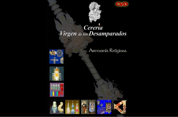 Catalogo cereria virgen de los desamparados