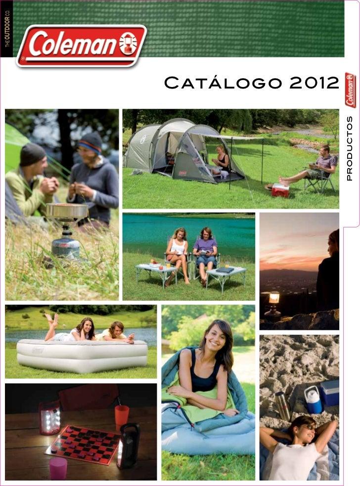 Catalogo Coleman 2012