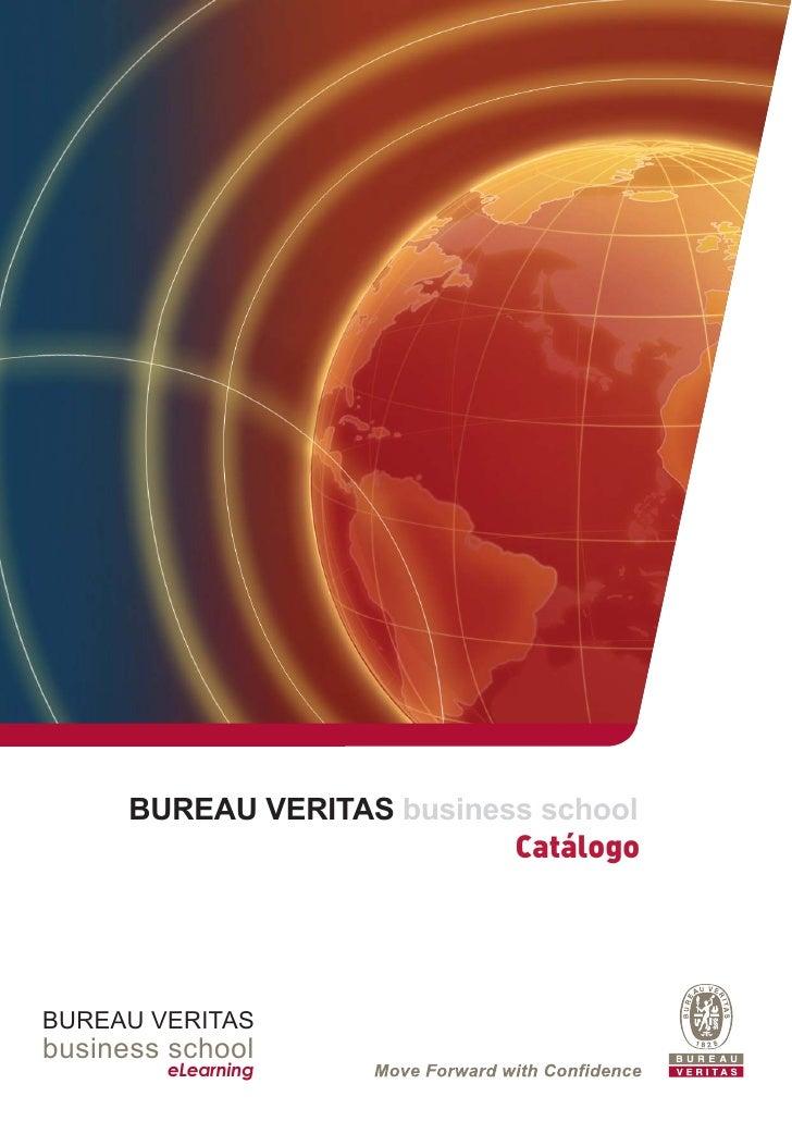BUREAU VERITAS business school                            CatálogoBUREAU VERITASbusiness school        eLearning
