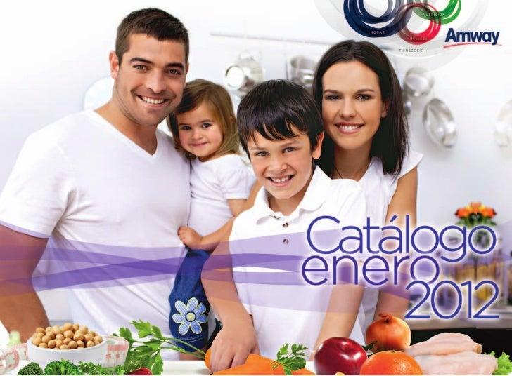 Catalogo de productos amway 2012